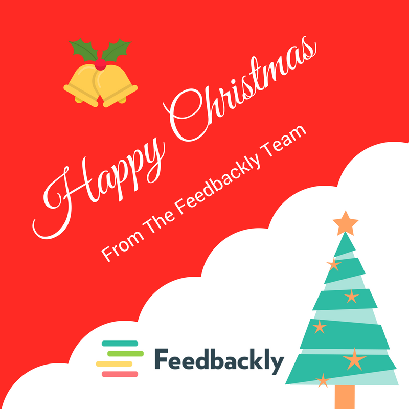 Customer Experience - Happy Christmas Feedbackly