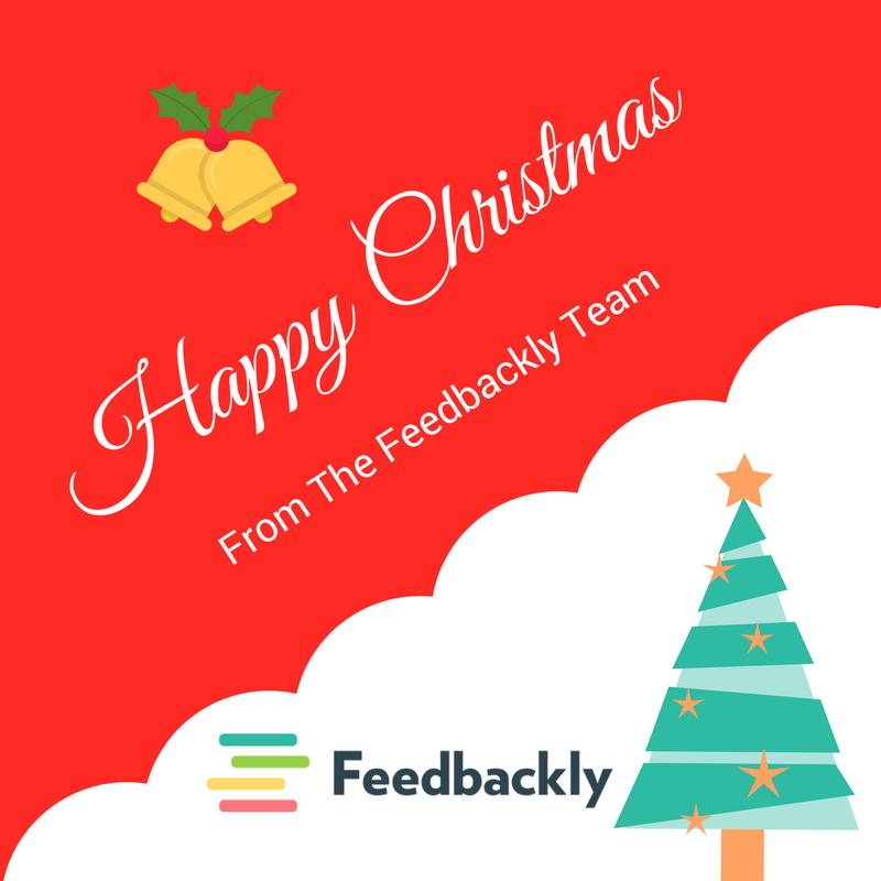 Customer Experience - Happy Christmas Feedbackly